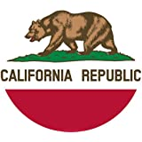 California State Flag 3x5 - 100% Made In USA using Tough, Long Lasting Nylon Built for Outdoor Use, UV Protected and Featuring Authentic Design with Superior Locked Stitches on Sides and Quadruple Stitching on the Fly End - Satisfaction Guaranteed