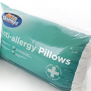 Silentnight Anti-Allergy Anti Bacterial Pillow Pair