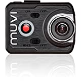 Veho VCC-006-K2NPNG Muvi K-Series K2 NPNG 1080p Wi-Fi Handsfree Camcorder with 16MP Camera, Waterproof Case, Detachable Screen, 8GB Memory and Carry Case
