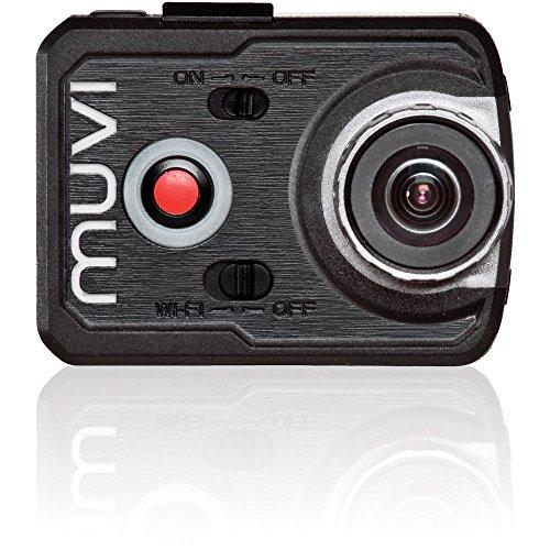 Veho VCC-006-K2NPNG Muvi WLAN-Handsfree-Camcorder und Koffer (16 Megapixel Kamera, wasserdichtes Gehäuse, abnehmbarem Display, 8 GB Speicher, K-Serie K2 NPNG 1080p)