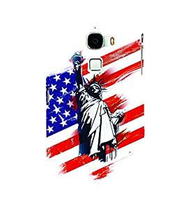 PrintVisa Travel Liberty 3D Hard Polycarbonate Designer Back Case Cover for LeEco Le Max