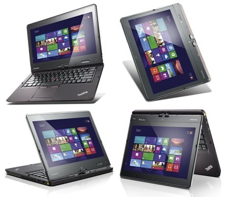 lenovo ThinkPad Twist (12.5型/タブレットとしても使える1台4役のウルトラブック) 【レノボ直販ノートパソコン】 (Core i5-3337U:128GBSSD)