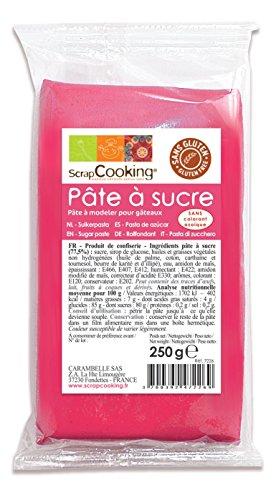 Pâte à sucre fushia 250g, Scrapcooking