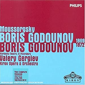 Mussorgsky: Boris Godounov (1869 & 1872 Versions)