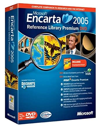 Microsoft Encarta Reference Library Premium 2005 DVD  [OLD VERSION]