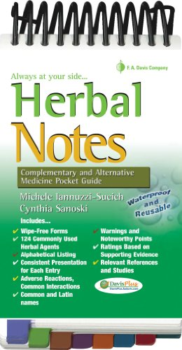 Herbal Notes: Complementary & Alternative Medicine Pocket Guide (Davis's Notes) PDF