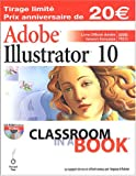 echange, troc Peachpit Press - Adobe Illustrator 10 (1Cédérom)