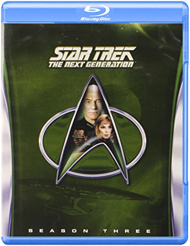 Blu-ray : Star Trek: The Next Generation: Season 3 (Boxed Set, Full Frame, , Dubbed, 6 Disc)