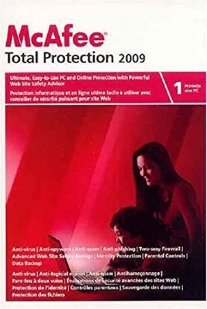 McAfee Total Protection 2009 1-User