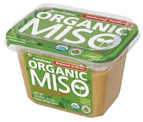 Marukome Organic Broth, Reduced Sodium Miso, 13.2 Ounce (Miso Organic compare prices)