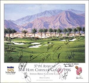 Payne Stewart Signed Picture - Poster - Autographed Golf Photos by Sports Memorabilia