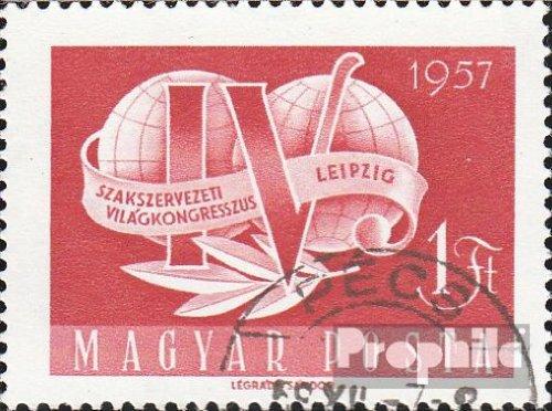 Ungarn 1500 (kompl.Ausg.) gestempelt 1957 Weltgewerkschaftskongreß (Briefmarken für Sammler)