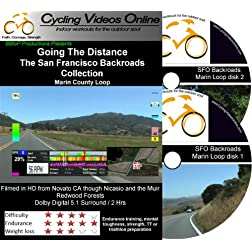 Going the Distance, The San Francisco Backroads Collection (DVD) - Part 1 Marin County Loop - A Virtual Ride and Workout