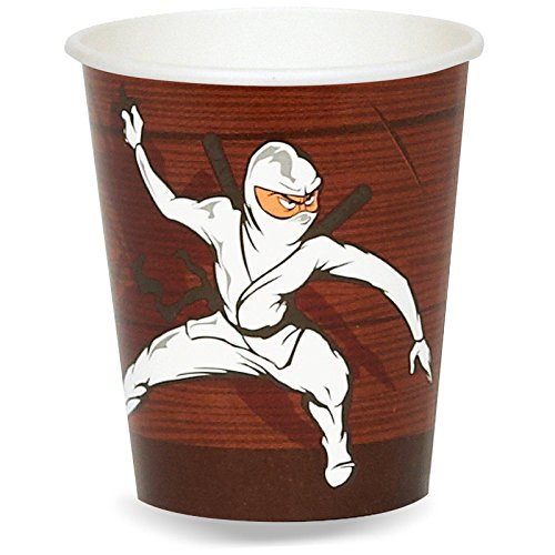 Ninja Warrior Party 9 oz. Paper Cups (8)