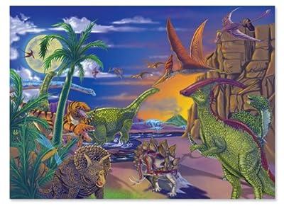 Melissa & Doug Land of Dinosaurs Jigsaw Puzzle by Melissa & Doug