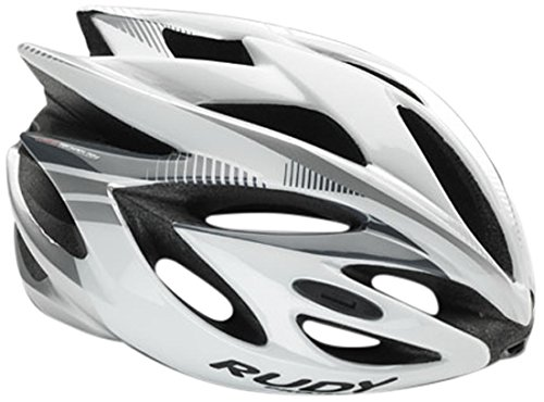 Rudy Project Rush Casco, White/Silver Shiny, M