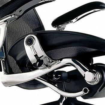 ハーマンミラージャパン アーロンチェアポスチャーフィットフル装備ポリッシュドアルミニウム/タキシード Aサイズ[12年保証] AE113AFA PJ CD BB 4M02 2109
