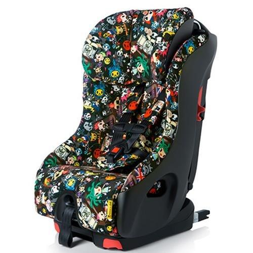 Clek Foonf 2014 Special Edition Tokidoki Convertible Car Seat, Rebel front-200102