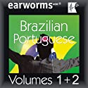 Rapid Brazilian (Portuguese): Volumes 1 & 2 Audiobook by  earworms Learning Narrated by Marlon Lodge