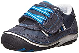 Stride Rite SRT SM Hammett Sneaker (Infant/Toddler),Navy,3 M US Infant