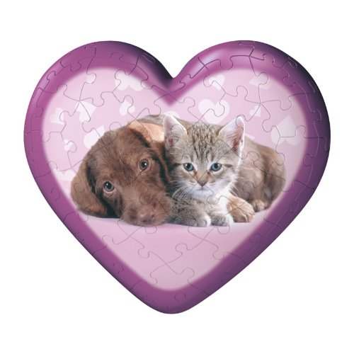 SWEET ANIMAL HEARTS PUZZLE - 1