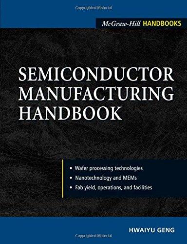 Semiconductor Manufacturing Handbook (McGraw-Hill Handbooks)