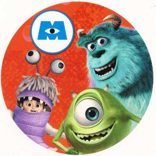 Monsters Inc. Sully & Boo ~ Edible Image Cake / Cupcake Topper!!! (8