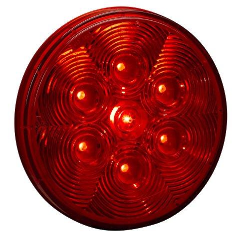 """Kc Hilites 1002 Led 4"""" Red Round Tail/Brake Light"""