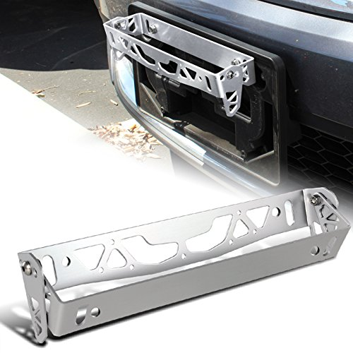 JDM Silver Aluminum Front Or Rear Carbon Fiber Look Racing Tow Hook Anodized Kit (Jdm Tow Hook Carbon Fiber compare prices)
