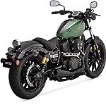 Vance&Hines(バンス&ハインズ) スリップオンマフラー スリップオン コンペティションシリーズ ブラック BOLT [XVS950R](14) 48533 48533