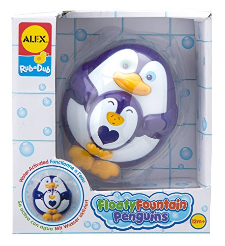 ALEX Toys Rub a Dub Floaty Fountain Penguins - 1