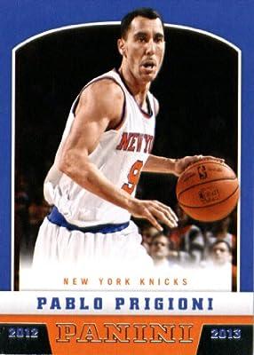 2012 /13 Panini Basketball Rookie Card #295 Pablo Prigioni New York Knicks