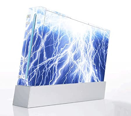 Lightning Decorative Protector Skin Decal Sticker for Nintendo Wii Console