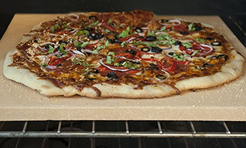 how to clean a pizza stone for the grill