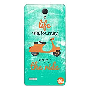 Designer Xiaomi Redmi Note Prime Case Cover Nutcase-Life Is A Journey