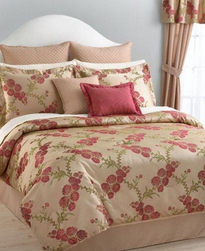 English Garden Jacquard Queen 24 Piece Bed In A Bag front-1030611