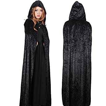 Adult and Children Full Length Hooded Cape Costume