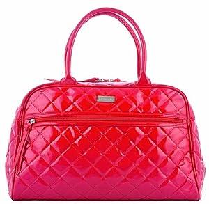 Kiwisac pour Bellemont 8001 Paloma - Bolso cambiador, diseño brillante, color rojo en BebeHogar.com