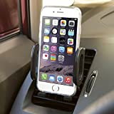 """Gear Beast Secure Grip Universal Smartphone Air Vent Car Mount Holder Cradle for iPhone 6, 5, 5S, 5C, 4, 4S; Samsung Galaxy S5, S4, S3 and other Smartphones up to 5"""" including HTC, LG, Google Nexus, Nokia, Sony and Motorola. Easy install, no tools needed."""