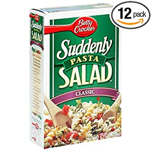 Suddenly Pasta Salad, Classic, 7.75-Ounce Boxes (Pack of 12)