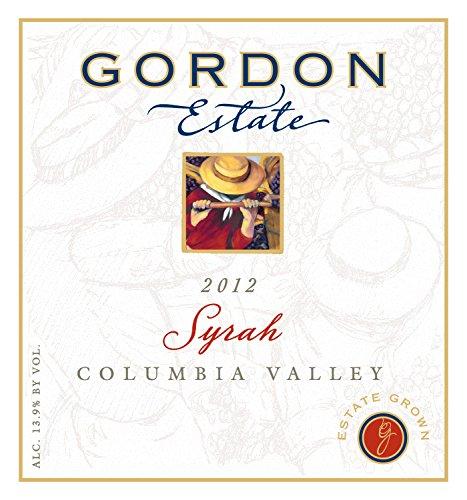 2012 Gordon Estate Columbia Valley Estate Syrah 750 Ml