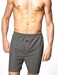 Onn Men's Cotton Boxer Shorts (NC-451-S_Multi-Coloured_Small) (NC-451_Multi-Coloured_Small)