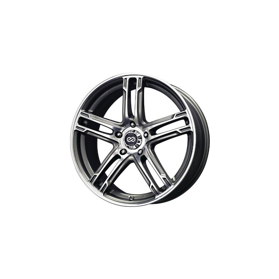 17x7 Enkei FD 05 (Black / Machined) Wheels/Rims 5x112 (434 770 4450BKM)