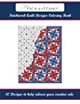Color and Create: Patchwork Quilt Designs Coloring Book: 50 Designs to help release your creative side