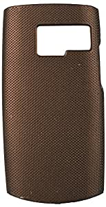 Purple Eyes Dot Hard back Case Cover For Nokia X2-01 (Brown)