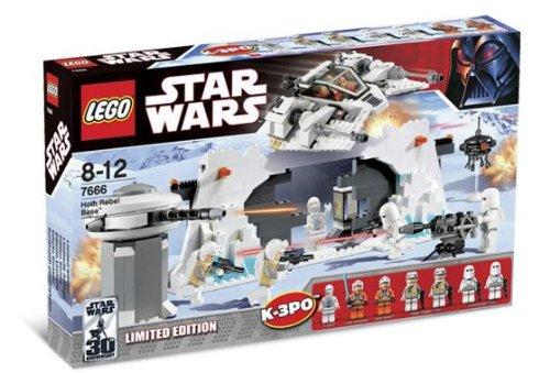 LEGO Star Wars: Hoth Rebel Base Set 7666