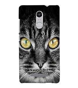 Cat with big eyes 3D Hard Polycarbonate Designer Back Case Cover for Xiaomi Redmi Note 3 :: Xiaomi Redmi Note 3 (3rd Gen)