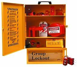 Brady Combined Lockout And Lock Box Station, Legend \