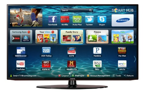 Samsung UN40EH5300 40-Inch 1080p 60Hz LED HDTV, Black (036725236943)