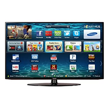 Samsung 40-inch LED HDTV   [Samsung LED Comparison Chart]   View larger  With this Smart HDTV, Smart Content provides new ways to explore and locate your favorite shows, movies, games, and more. A full web browser with WiFi built-in and innovative ap...